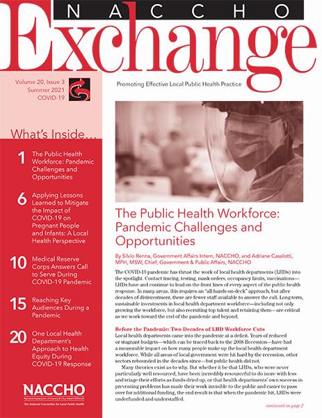 Summer 2021 Exchange cover