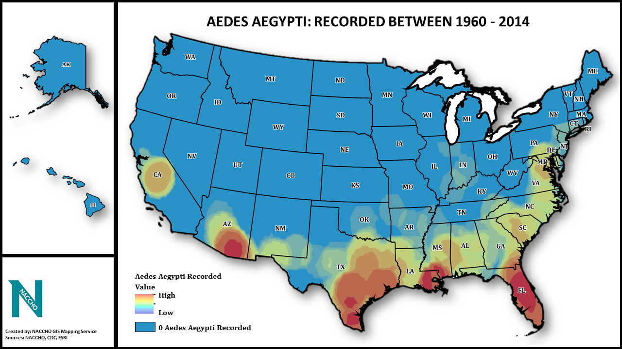 Mosquito Population By State Map Aedes Aegypti and Local Vector Control: Mapping out a Plan for