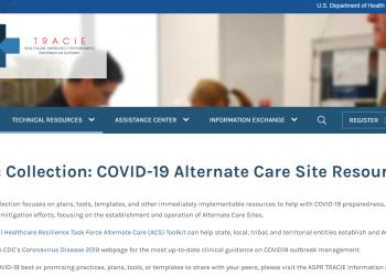 2020 04 27 15 21 31 COVID 19 Alternate Care Site Resources ASPR TRACIE