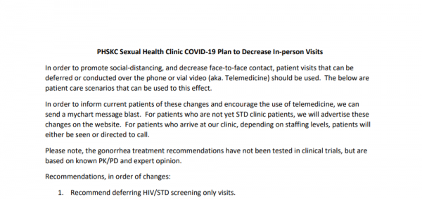 2020 04 27 15 49 12 PHSKC Sexual Health Clinic COVID Tele visits 3 26 2020 pdf
