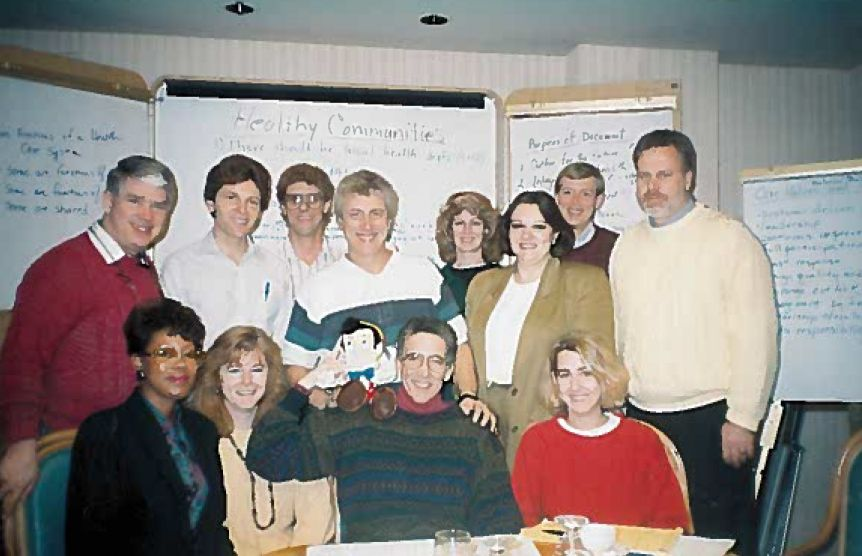 Archived photo of Board members