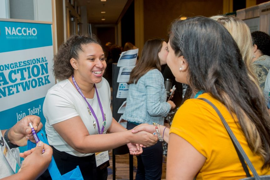 Naccho Annual 2018 Mentorship Program Training Shake Hands Conference