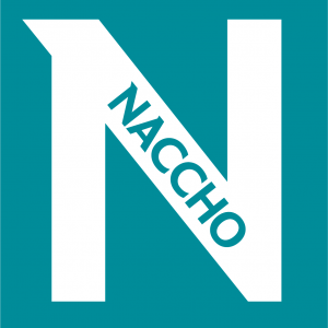 NACCHO logo small version02 square N pms321 Invert