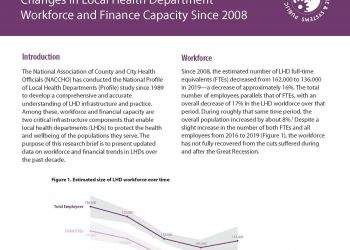 2019 Profile Workforce and Finance Capacity final May 2020 Page 1