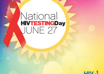 Large HIV Testing Day Logo